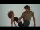 Дженифер Грей и Патрик Суэйзи репетируют Грязные танцы Jennifer Grey e Patrick Swayze