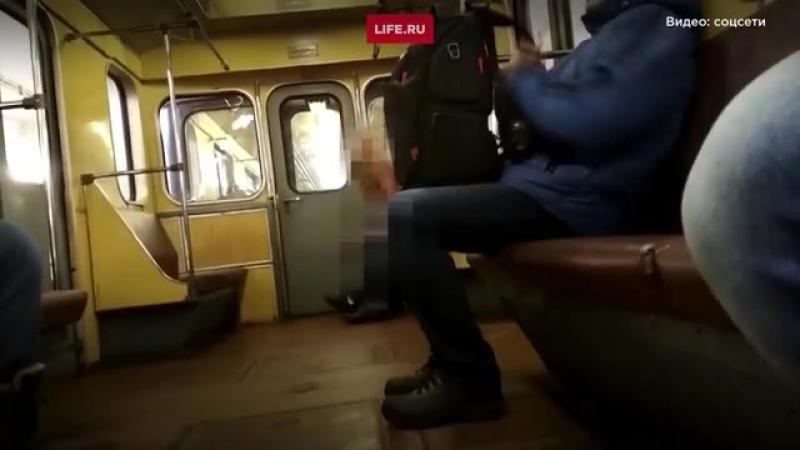 Сняли в метро секс