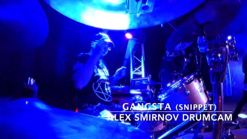 Multiverse - Gangsta cover (Alex Smirnov drumcam)