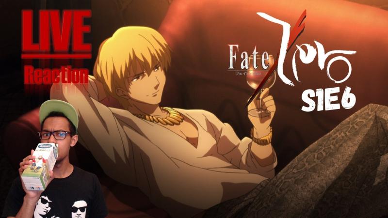 [Vezaks: реакция] Все против одного! Судьба: Начало / Fate/Zero - 1 сезон 6 серия