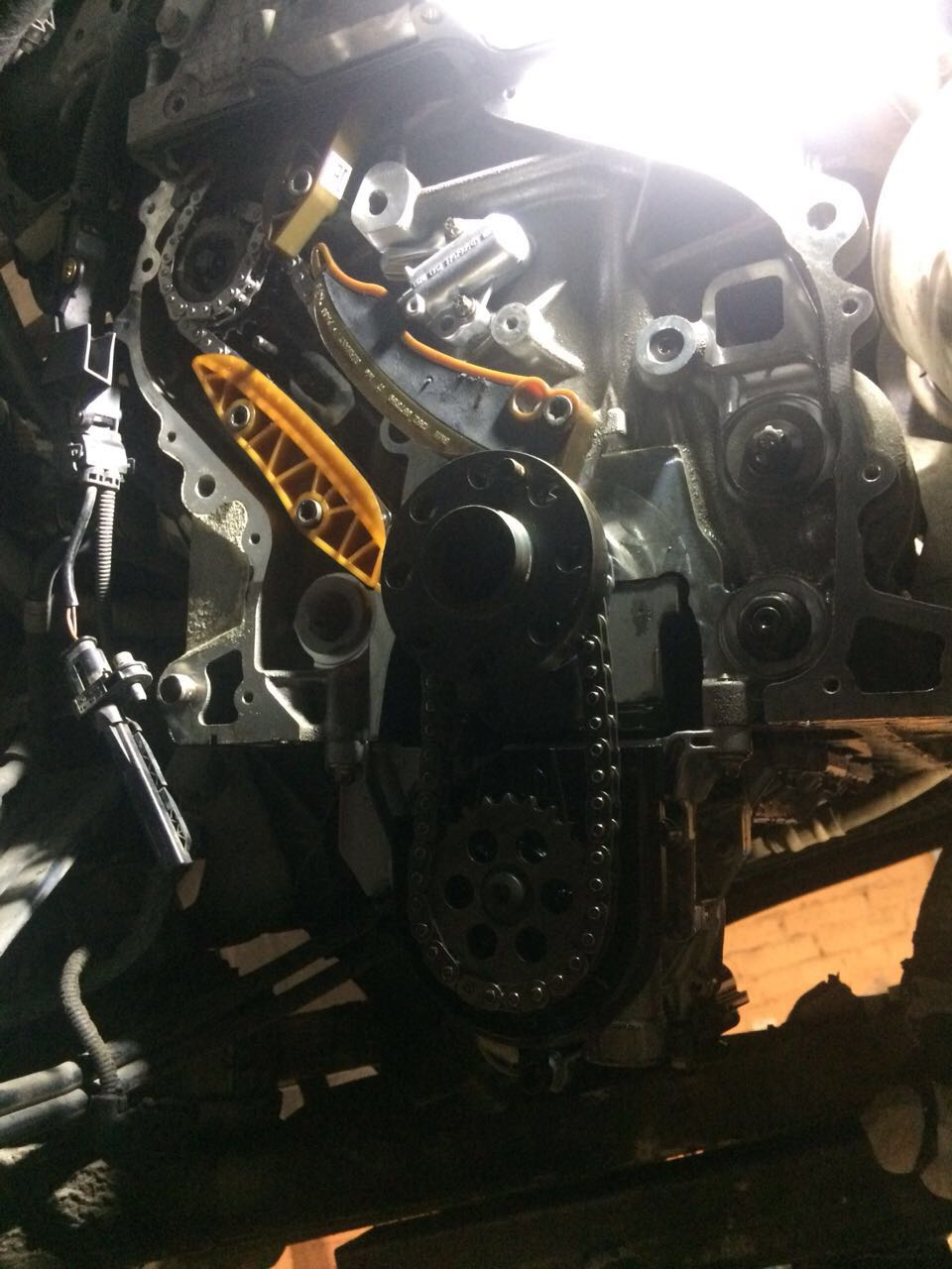 Замена цепи ГРМ у BMW
