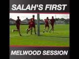 Mohamed Salah in Melwood
