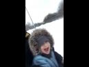 Denis_Nikiforov40 - Денис Никифоров катается с горки с детьми, с Вероникой и Александром