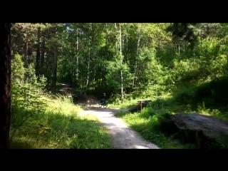 Треня на памп треке в заельцовском парке