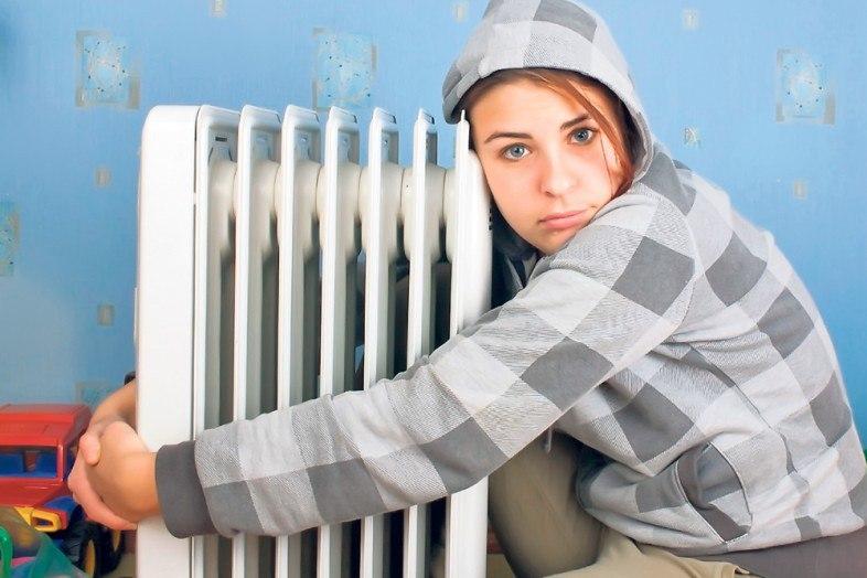 Томские коммунальщики в морозы повысили температуру в батареях до 100 градусов