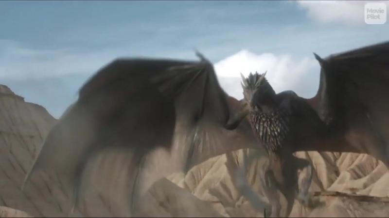 Как Менялся Дрогон Из Игры Престолов (1-7 сезоны)