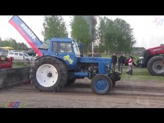 MTZ, Jumz, DT, Belarus vs Claas - Tractor show.mp4