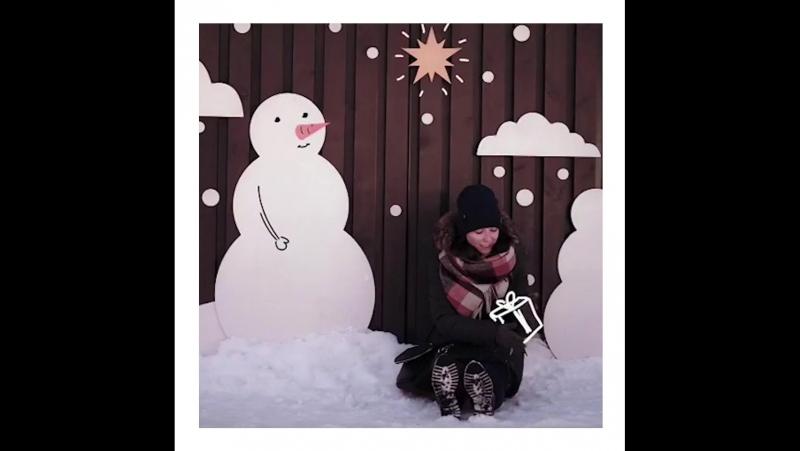 Снеговик в Новой Голландии