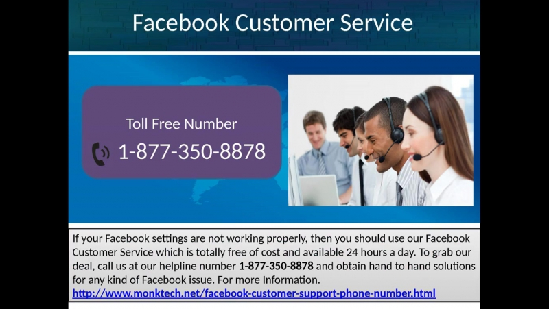 Chop off the hacking issues minutely via Facebook Customer Service 1-877-350-8878.