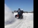 Andreev Stunt Team Harley Davidson Drift Ice 100000$