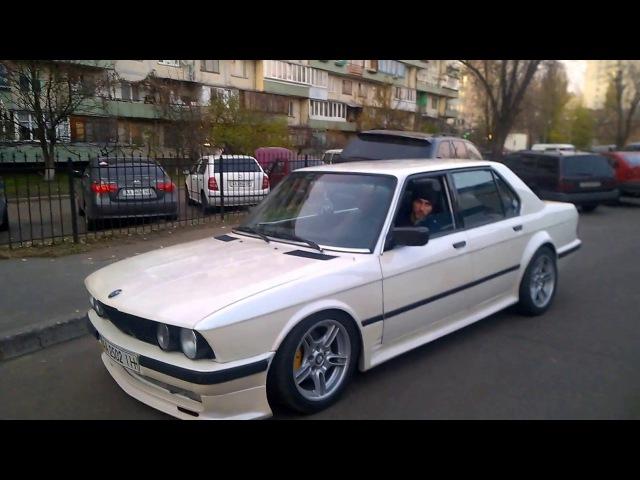 ЧТО ТО МНЕ В НЕЙ ПОНРАВИЛОСЬ BMW 520 E -28 в ТЮНИНГЕ участвовали E-34. E-38. E-39