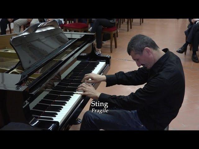 Sting Fragile Franco Piccinno piano