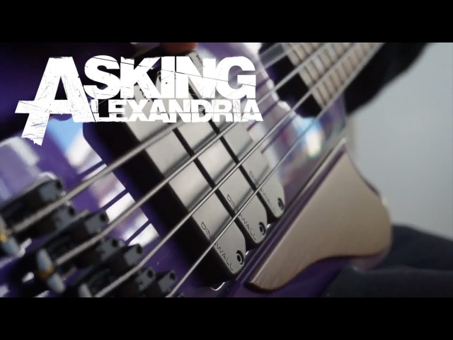 ASKING ALEXANDRIA - Alone In A Room | Bass Cover