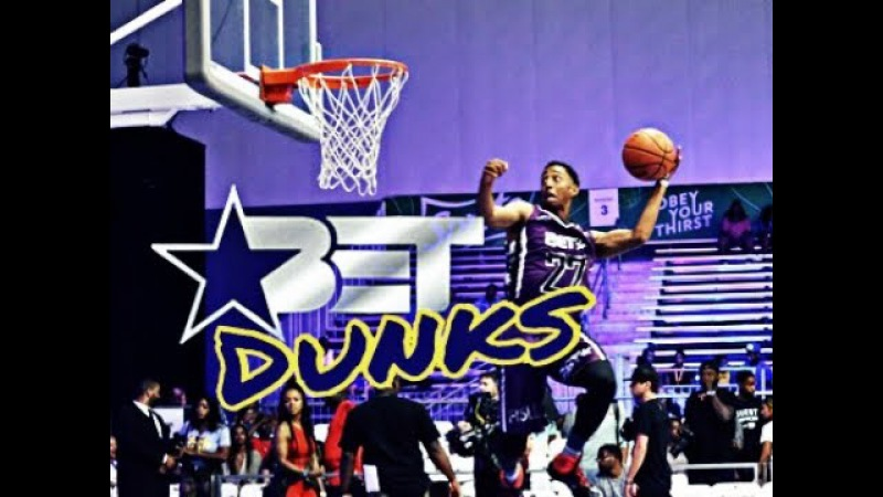 BET Celebrity Game/Dunk Contest Raw Dunks