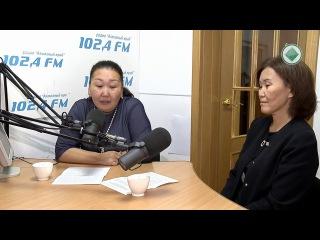 Студия 102,4 FM Центр занятости населения Мирнинского района