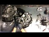 44 Suzuki Intruder VL 1500 Engine Motor Tear Down Case Split VL1500 Disassemble Rebuild V Twin