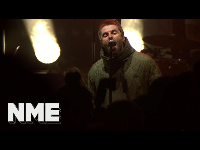 Liam Gallagher plays 'You Better Run' live | VO5 NME Awards 2018