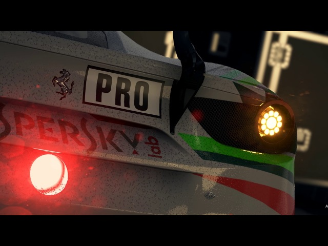 Assetto Corsa Competizione, Official game of the Blancpain GT Series. Announcement Trailer [PEGI]