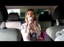 Олиша поет в караоке с Tuxun Q9 прямо в машине, это не фантастика!