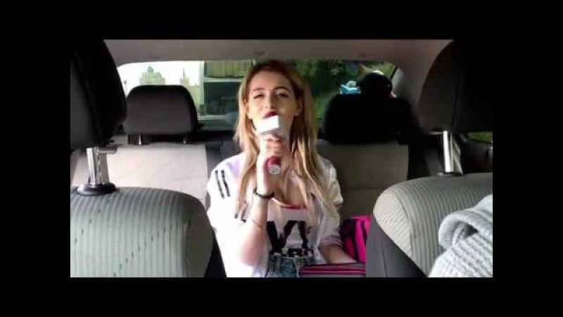 Олиша поет в караоке с Tuxun Q9 прямо в машине это не фантастика