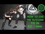 How Elite Wrestlers use the Russian Tie for BJJ  MMA