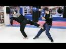 Бой тхэквондист против боксера Как победить боксера ногами
