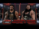 WFW Raw - The Nightmare vs Roman Reigns [Tables match][IC Championship TLC Re-match]