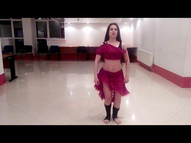 Круг и тарелочка. Техника Восточного танца BellyDance Джаббарова Наталия