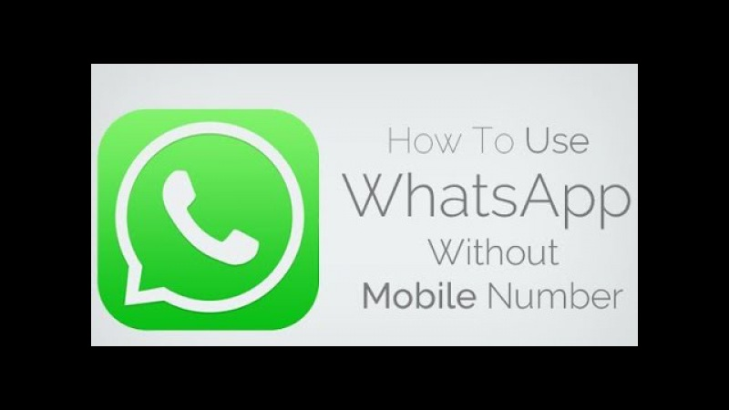 Activate Whatsapp Without Mobile Number or SIM SMS Verification [iphone/android]