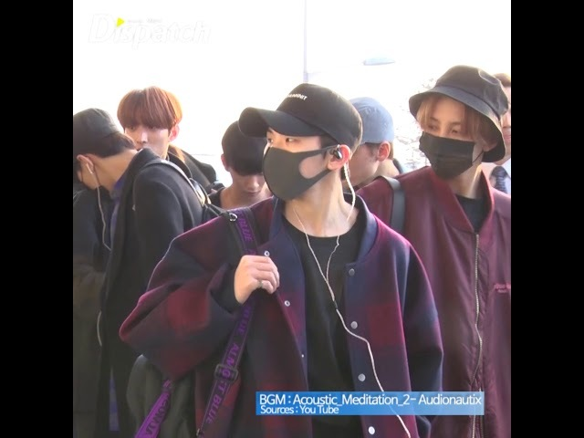[FANCAM] [180219] Seventeen (세븐틴) @ Gimpo Airport