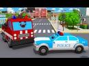 Мультики для детей СУПЕР СКОРОСТЬ Полицейская Машина Пожарная Машинка Мультфил...