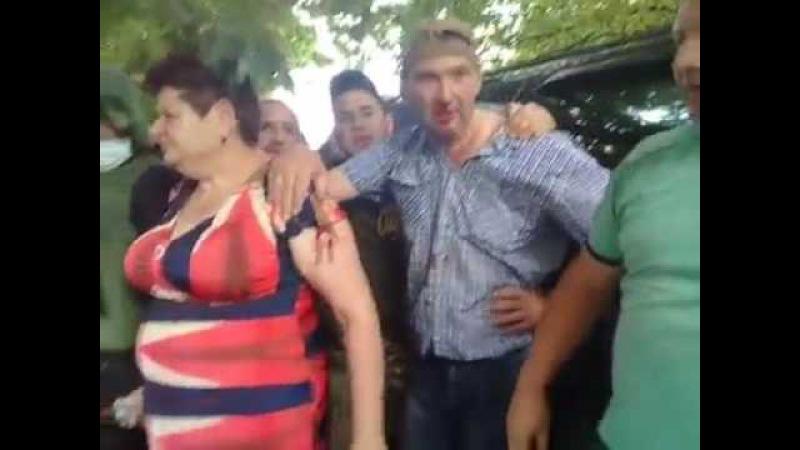 часть-2 под Кропивницким ветеранов «Донбасса» и «Айдара» «паковали» полицейски ...