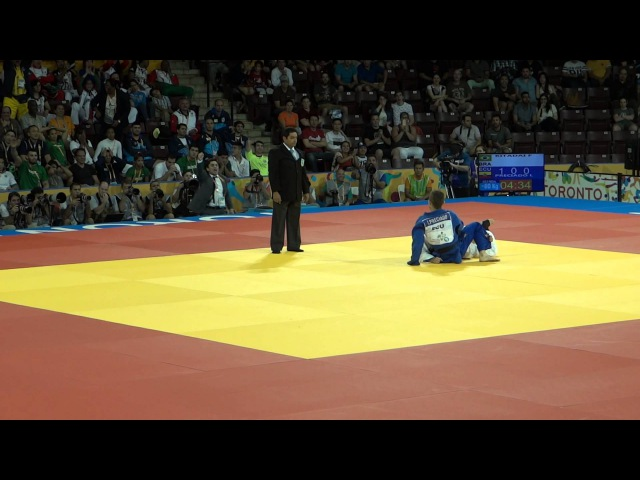 Pan Am 2015 Judo Mens under 60kg Gold Medal