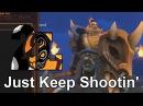 Just Keep Shootin (Put Mah Shield Up ) Bakko Original Song