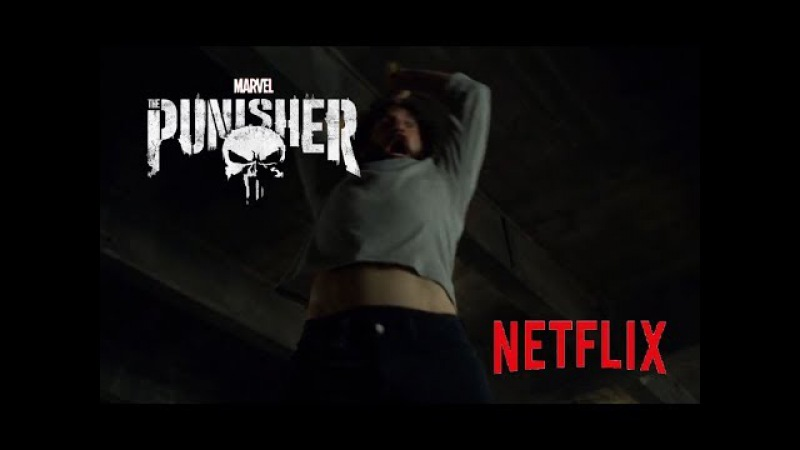 Netflix The Punisher - Hammer Time - Fight Scene
