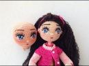 Como bordar ojos muñeca Livia amigurumis By Petus PRIMERA PARTE