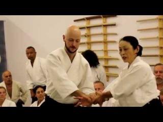 Yoko Okamoto Shihan - Morotedori Aikido