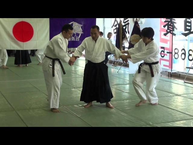 平成26年養神館鏡開き 安藤先生の演武 2014Yoshinkan Kagamibiraki Ando Sensei Demo