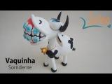Vaca em Porcelana Fria  Pasta Flexible