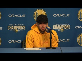 Stephen Curry Postgame Interview / GS Warriors vs Nets