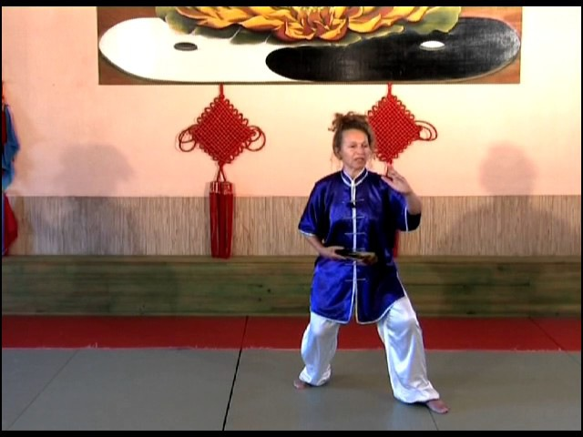 Taiji Quan Double Eventails, forme en 48 mouvements (exercices demonstration)