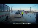 На Сахалине в холмском селе Чехов грузовой поезд сбил снегоход