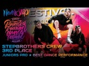 STEPBROTHERS CREW ★ 3RD PLACE ★ JUNIORS PRO ★ Project818 Russian Dance Festival ★ Moscow 2017
