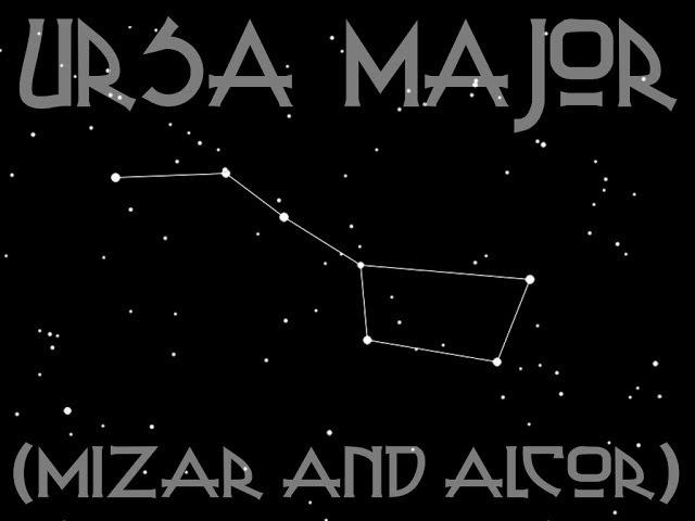 [k313] -- Ursa Major (Mizar and Alcor)