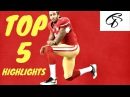 TOP 5 | COLIN KAEPERNICK HIGHLIGHTS