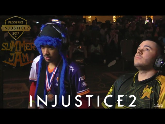 MOST INTENSE GRAND FINALS - SONICFOX vs SEMIIJ - INJUSTICE 2 PRO SERIES
