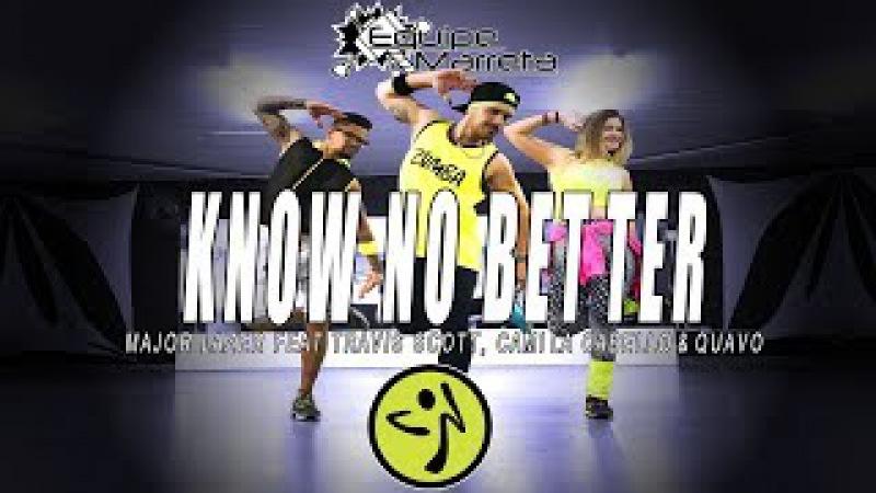 Major Lazer - Know No Better (Versão Zumba) - Coreografia Equipe Marreta