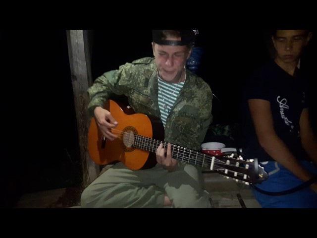 Деревенский парень спел песню на гитаре. Аxyeли все. Никто не ожидал.