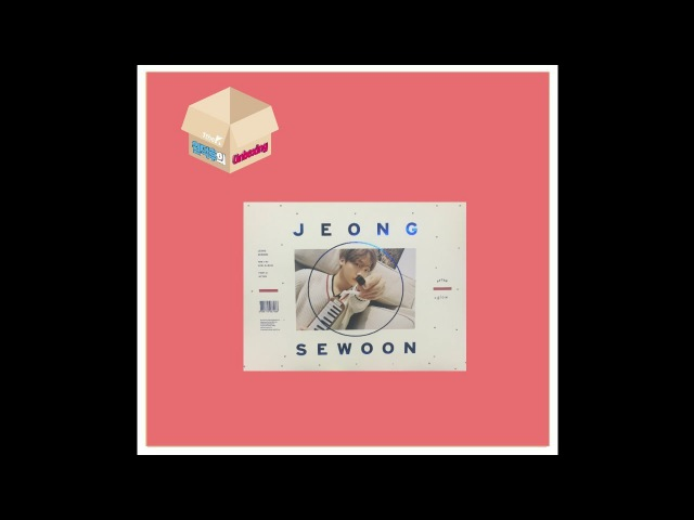1theK Unboxing(원덕후의 언박싱): JEONG SEWOON(정세운) _ 2nd Mini Album 'AFTER'