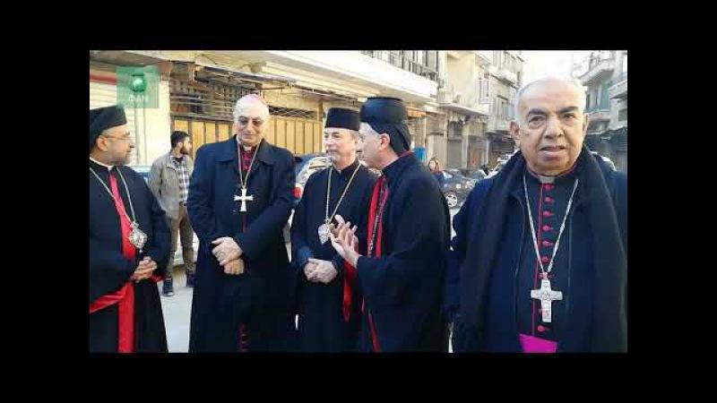 Сирия: делегация священнослужителей посетила восстанавливаемые церкви в Алеппо